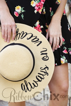 Here Comes the Sun Hat (Vacay)