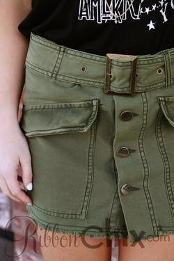 Free People ~ Hangin' on Tight Mini Skirt