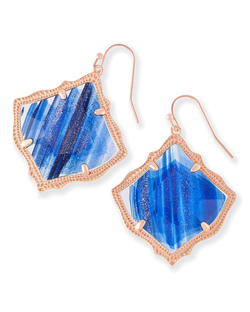 Kendra Scott ~ Kirsten (Navy Dusted Glass)