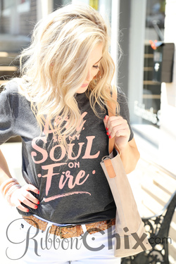Lord Set My Soul On Fire Tee