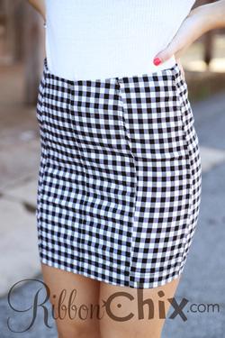 Free People ~ Modern Femme Novelty Skirt