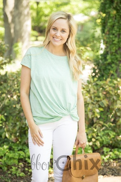 Knot Your Basic Tee