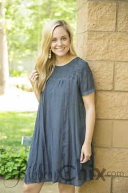 Tracey Embroidered Dress