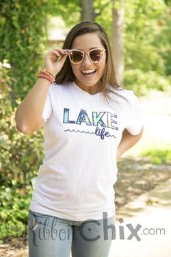 Chix Exclusive ~ Lake Life Tee