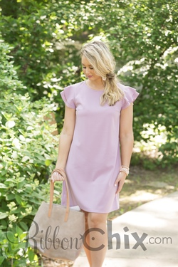 Beauty Bound Dress (Lavender)