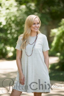 Such a Sweet Story Dress (Sage)