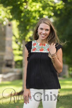 Sweet Intentions Top (Black)