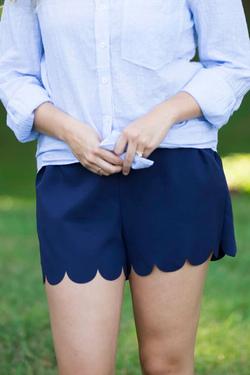 Midnight Blues Shorts