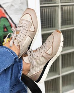 OTBT Gold Snowbird Sneakers