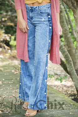 Tractr Blu ~ Right On Track Denim Jeans