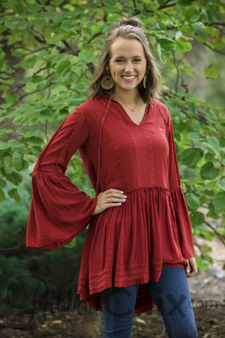 All the Way Up Tunic