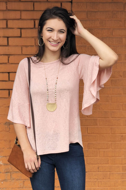Changing Thoughts Top (Blush)