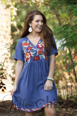 Beauty Personified Dress (Perry Blue)