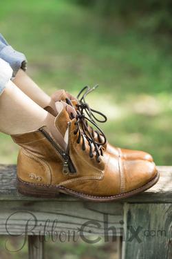 Bed Stu Tan Rustic Bonnie Boot
