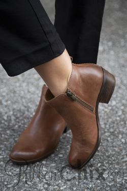 LUCKY BRAND Toffee Basel Bootie