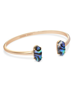 Kendra Scott ~ Edie Cuff Bracelet (Abalone Shell/Rose Gold)