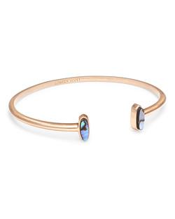 Kendra Scott ~ Mavis Cuff Bracelet (Abalone Shell/Rose Gold)