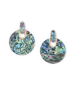 Kendra Scott ~ Didi Earring (Abalone Shell/Rose Gold)
