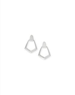 Kendra Scott ~ Paxton Earring (Silver)