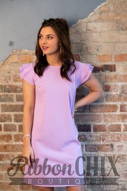 Beauty Bound Dress (Lilac)