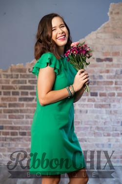 Beauty Bound Dress (Green)