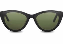 TOMS Josie Sunglasses in Shiny Black