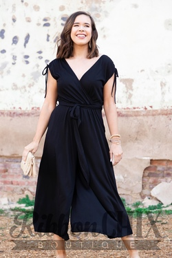 The Perfect Opportunity Jumpsuit in Black