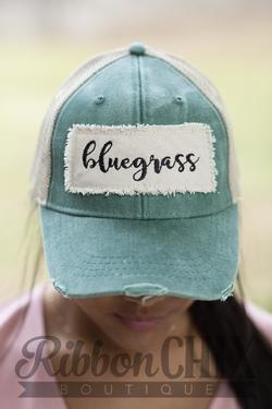 Chix Made ~ Bluegrass Patch Hat (Green)