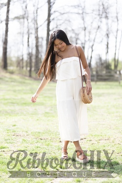 Have It Here Ivory Jumpsuit
