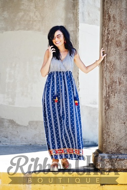 Problem Solved Maxi Dress