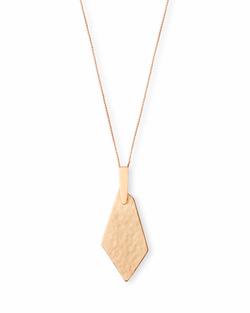 Kendra Scott ~ Brenton Necklace in Rose Gold