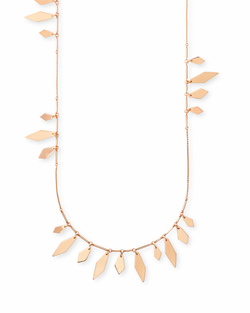 Kendra Scott ~ Blaine Necklace in Rose Gold
