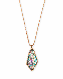 Kendra Scott ~ Lilith in Rose Gold Abalone Shell