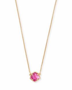 Kendra Scott ~ Jaxon Necklace in Gold/Azalea Illusion