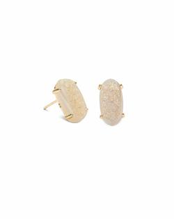 Kendra Scott ~ Betty Earring in Gold/Iridescent Drusy
