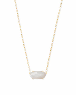 Kendra Scott ~ Ever Pendant Necklace in Gold/Ivory Mother of Pearl