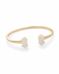 Kendra Scott ~ Edie Bracelet in Gold Iridescent Drusy