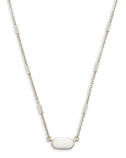 Kendra Scott ~ Fern Necklace in Bright Silver