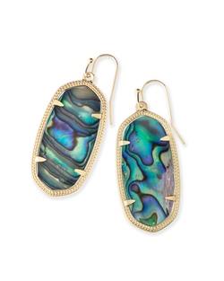 Kendra Scott ~ Elle Earring in Gold/Abalone Shell