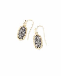 Kendra Scott ~ Lee Earring in Gold/Platinum Drusy
