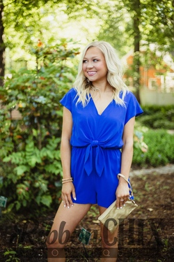 Not Without You Romper