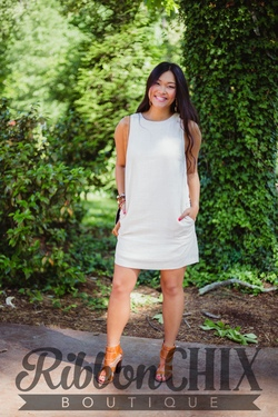 Sweeter In The South Cream Dress