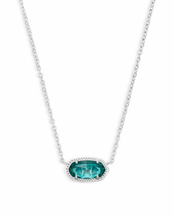 Kendra Scott ~ December Birthstone, Elisa Pendant Necklace in London Blue