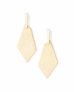 Kendra Scott ~ Gia Drop Earrings In Gold
