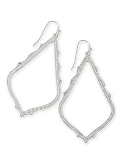 Kendra Scott ~ Sophee Drop Earrings In Silver
