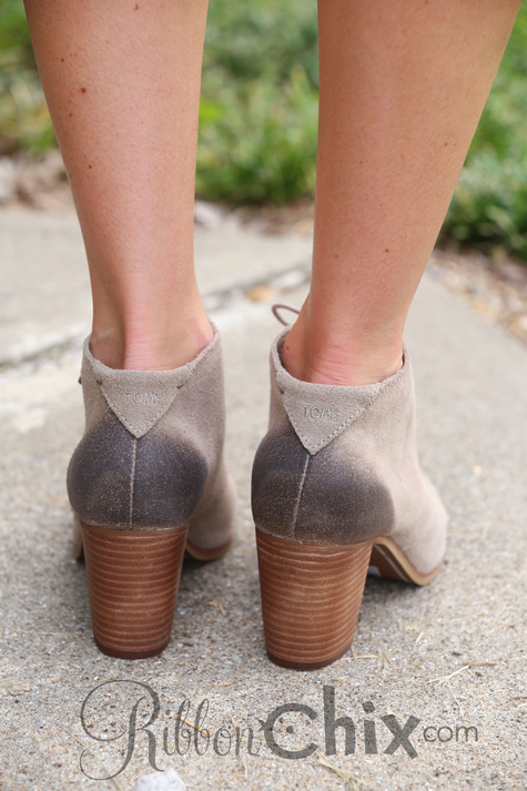 dfbd06ca6b7 ZINACTIVE TOMS Lunata Lace-Up Booties (Desert Taupe Burnished Suede)