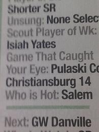 Isaiah Yeatts's Wrestling Recruiting Profile