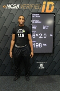 Myron Burton Jr.'s Football Recruiting Profile