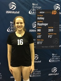 Ashley Ripplinger's Women's Volleyball Recruiting Profile