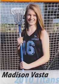 Madison Vasta's Women's Lacrosse Recruiting Profile